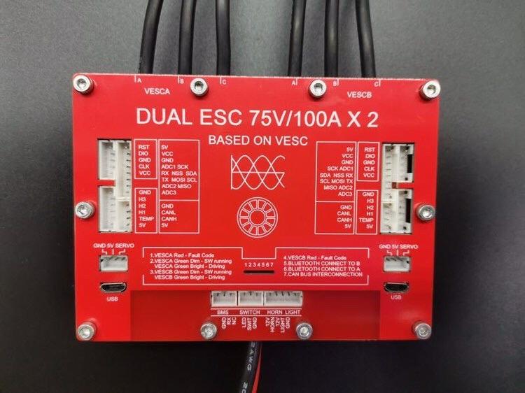 Ubox based on 75V300A VESC