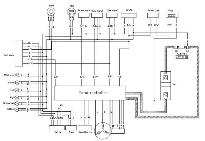 Surron_LB_wiring_diagram
